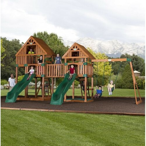 Big Backyard Swing Set By JumpJoker.com