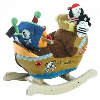 Buccaneer Kids Rocker by JumpJoker.com