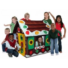 Gingerbread Play Tent