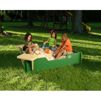 Kids Sandbox with Cover by JumpJoker.com