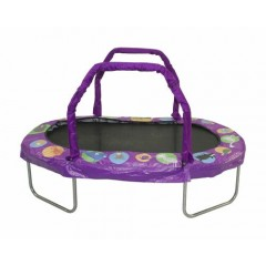 Purple Kids Trampoline