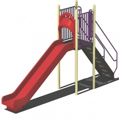 Straight Kids Slide